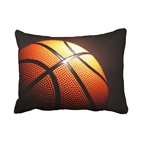 Tarolo Decorative great design basketball Pillow Cases trendy Size 20x26 inches(51x66cm) One Sided (Basketball Pillowcase)