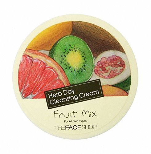 The Face Shop Herb Day Cleansing Cream 150ml (Fruit - Face Shop Herb