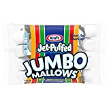 Jet Puffed Kraft Jumbo Mallows Marshmallows, Extra Large, 24 Ounce (Pack of 8)