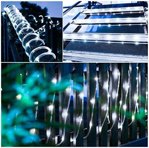 STRING LIGHTS Im Freien wasserdichte Solar Lichterketten 200 LED / 22 Meter 8 Modi Solar Lichterketten Kupferdraht Lichterketten Für Gartenzaun Terrasse Hochzeit Weihnachten