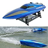 Racing Boat,Elevin(TM)New High Speed RC 2.4G 4CH RTF Water Cooling Outdoor RC Simulation Racing Boat