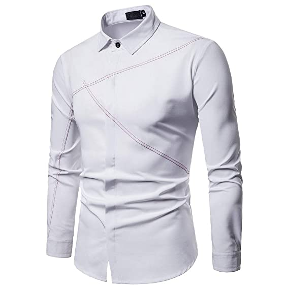Camisas De Hombre Blancas, Modaworld Camisa De Hombre Moda ...