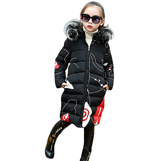 891f67a79 Amazon.com  Tronet Toddler Kids Baby Girl Winter Padded Faux Fur ...