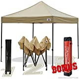 Cheap Abccanopy Kingkong-series 10 X 10-feet Commercial Instant Canopy Kit Ez Pop up canopy ,Bonus Carrying Bag,Beige