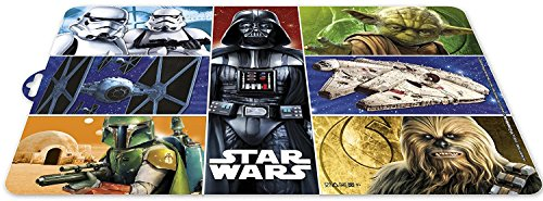 Star Wars Placemats - Set of 2 - Darth Vader - Yoda - Storm Trooper - Chewbacca (4)
