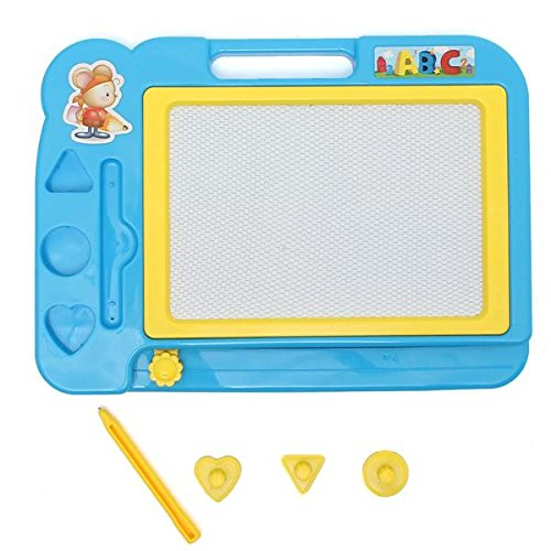 Toys & Gifts - Monochrome Children Painting Graffiti Board Tools Educational ic Learning Drawing Writing Magic Pens - Magna Doodle - ic Drawing Board - 1PCs
