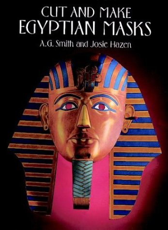 Cut and Make Egyptian Masks (Cut-Out Masks)