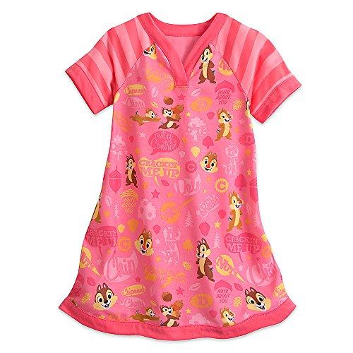 Disney Chip 'n' Dale Nightshirt for Girls Size 2