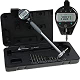 Anytime Tools Bore Gauge Electronic Digital Absolute Precision Gage Super High Resolution 2''-6''/0.00005''