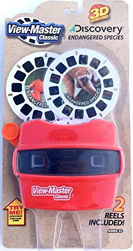 - Basic Fun View Master Classic Viewer with Reels Discovery: Endangered Species