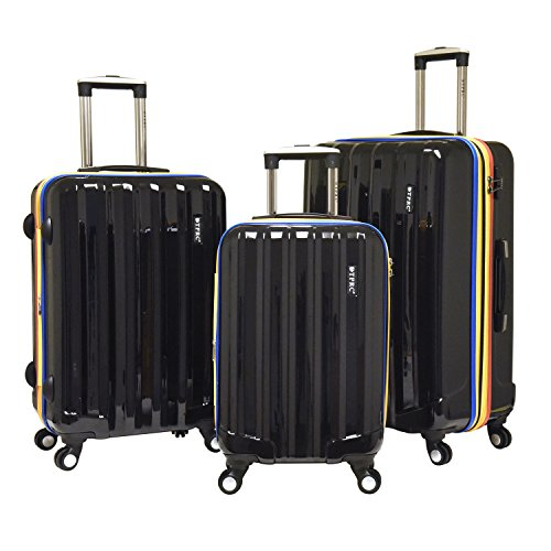 travelers-polo-racquet-club-tprc-rio-3-piece-expandable-spinner-luggage-set-black-one-size