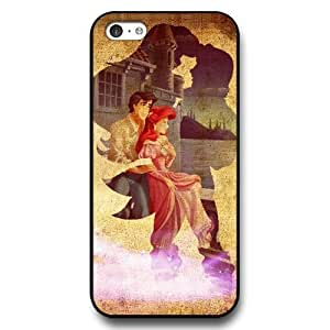 The Little Mermaid Ariel Classic Disney Cartoon Movie Hard Plastic Phone Case Cover For Samsung Galaxy S5 Cover - Black