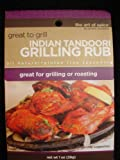 Indian Tandoori Grilling Rub : Net Weight 1oz/28g