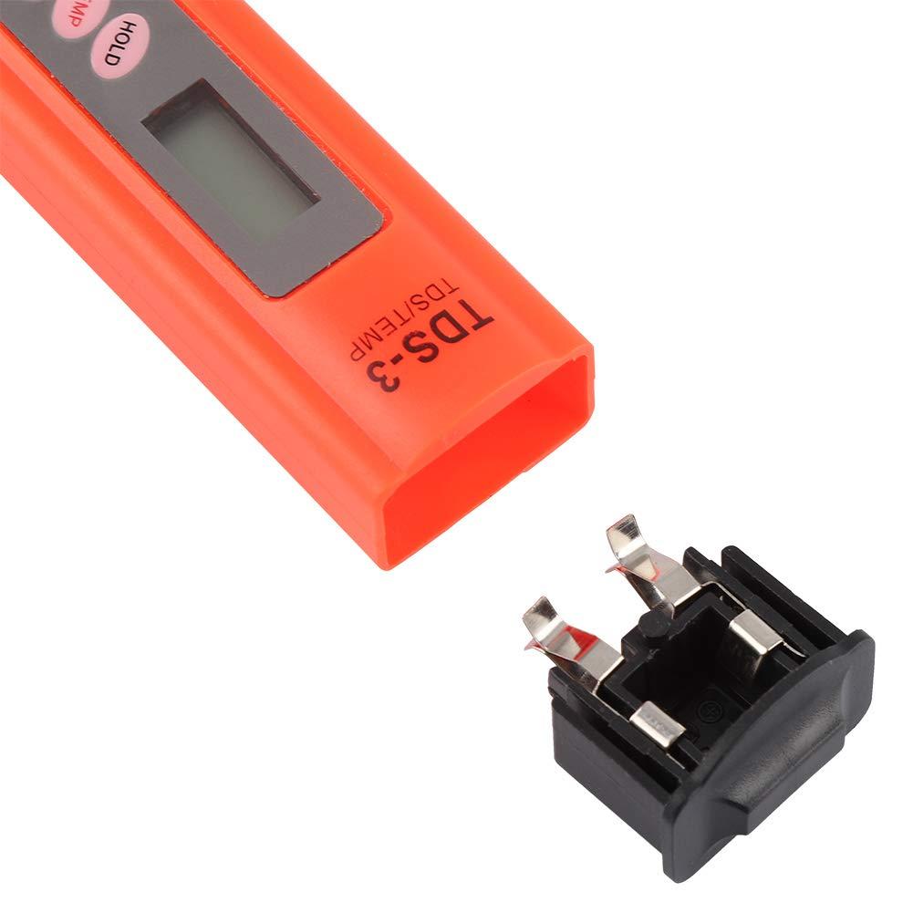 Industria de la acuicultura Monitor de Calidad del Agua Monitor Digital preciso de Calidad TC LCD Control de pureza del Agua Medidor de pH Tester para Laboratorios de Agua