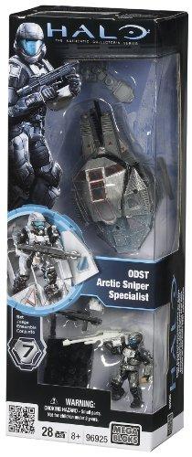 Mega Bloks Halo ODST Arctic Sniper Specialist, Baby & Kids Zone
