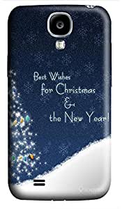 Cheap price Samsung S4 case Quotes Marry Christmas Best 3D cover custom Samsung S4