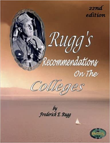 ((TOP)) Rugg's Recommendations On The Colleges (22nd Edition). estate ambitos Royal Massimo dientes rules Center exactly