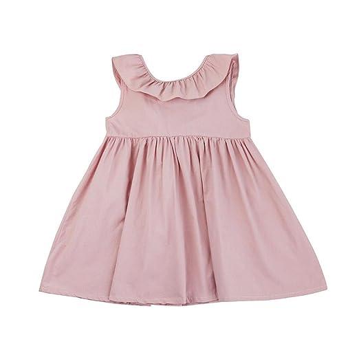 ca95b3b38498b Amazon.com: Goodlock Toddler Infant Kids Fashion Dress Baby Girl ...