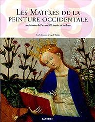 Les Maîtres de la peinture occidentale Coffret en 2 volumes : Tome 1, Du Gothique au Néo-clacissisme ; Tome 2, Du Romantisme à l'époque contemporaine