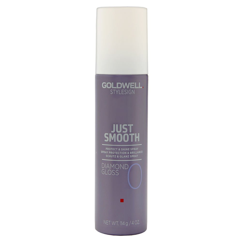 Amazon.com : Goldwell Stylesign Just Smooth Diamond Gloss Protect & Shine Spray 4 oz : Beauty