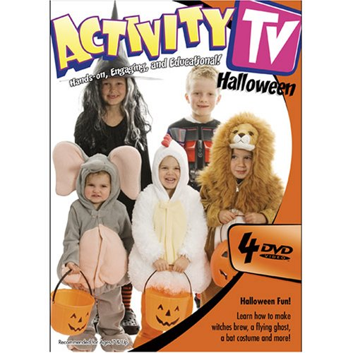 ActivityTV Halloween 4-DVD Pack -