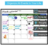 Magnetic Calendar for Refrigerator - Stain