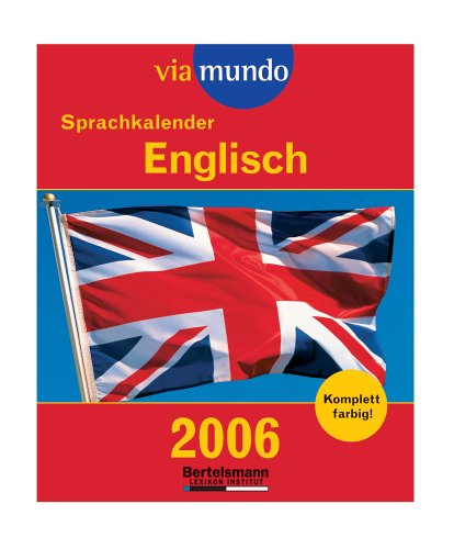 via mundo Sprachkalender Englisch 2006. Abreißkalender