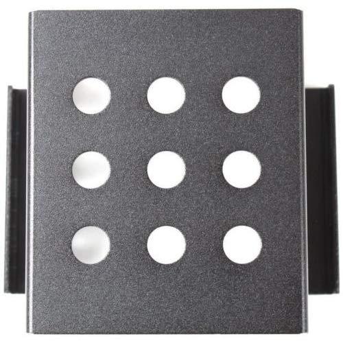 SmartLifeTime 4/bah/ías de 3,5/Pulgadas a 2,5/Pulgadas SATA SSD HDD Disco Duro Caddy convertidor Soporte Adaptador de Montaje Interno Metal Material Funda para Accesorio de Soporte Negro