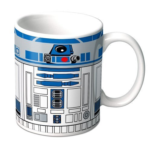 Star wars the force awakens R2-D2 ceramic coffee mug for sale  Delivered anywhere in USA