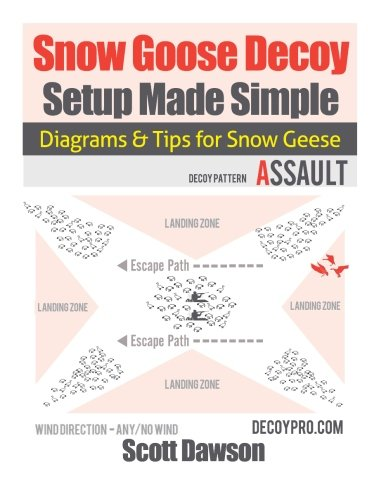 Snow Goose Decoy Setup Made Simple: Diagrams & Tips For Snow Geese