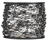 """Campbell 0710227 Hobby and Craft Sash Chain, Chrome Plated, #2 Trade, 0.016"""" Diameter, 29 lbs Load Capacity, 164 Feet Reel"""