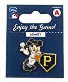 MLB Pittsburgh Pirates Disney Pin - Mickey Leaning on Home Base