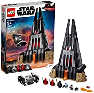 LEGO Star Wars Darth Vader's Castle 75251 Building Kit includes TIE Fighter, Darth Vader Minifigures, Bacta Tank and more (1