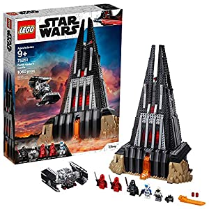 LEGO Star Wars Darth Vader's Castle 75251 Building Kit includes TIE Fighter, Darth Vader Minifigures, Bacta Tank and…