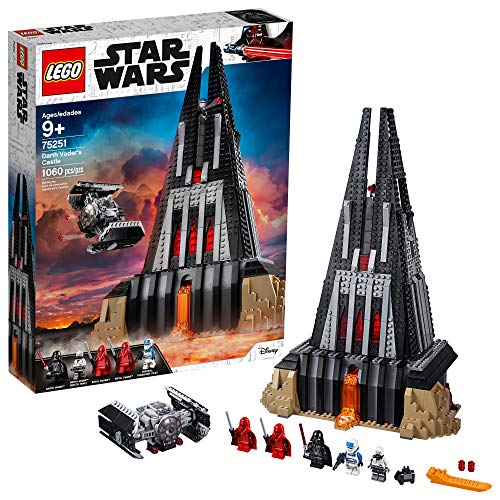 LEGO Star Wars Darth Vader's Castle 75251 Building Kit (1060 Pieces) - (Amazon Exclusive) ()