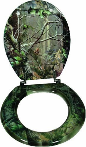 Rivers Edge Wood Camouflage Toilet Seat