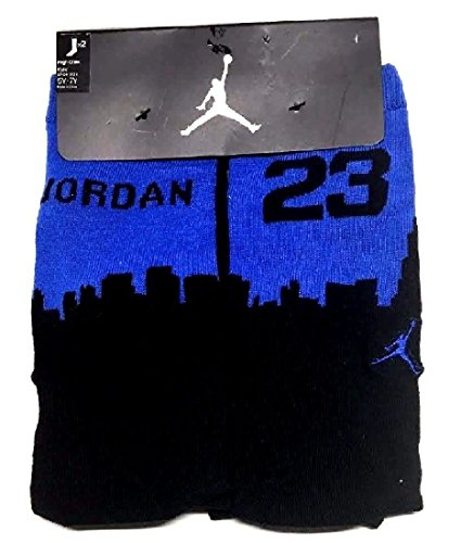 Boy's Jordan Two-Tone 2-Pack High Crew Socks 13C-3Y (Collection Ultimate Jordan)