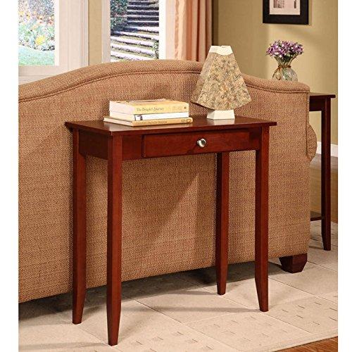 Amazon.com: DHP Rosewood Tall Sofa Table, Medium Coffee Brown: Kitchen &  Dining - Amazon.com: DHP Rosewood Tall Sofa Table, Medium Coffee Brown