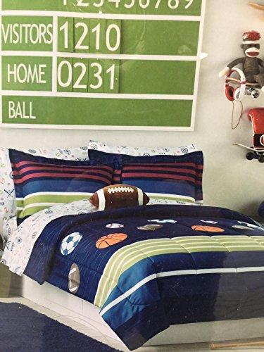 Jumping beans 7 piece bedding set size full MVP sport - Mvp Comforter