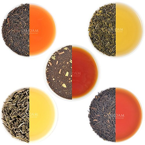 VAHDAM, Earl Grey Tea Sampler  Black Tea, Green Tea, Oolong