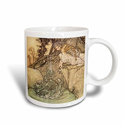 Buy 3drose 126299 2 A Midsummer Nights Dream 7 Arthur Rackham Fantasy Fairy Painting Mug 15 Oz Ceramic Online At Low Prices In India Amazon In