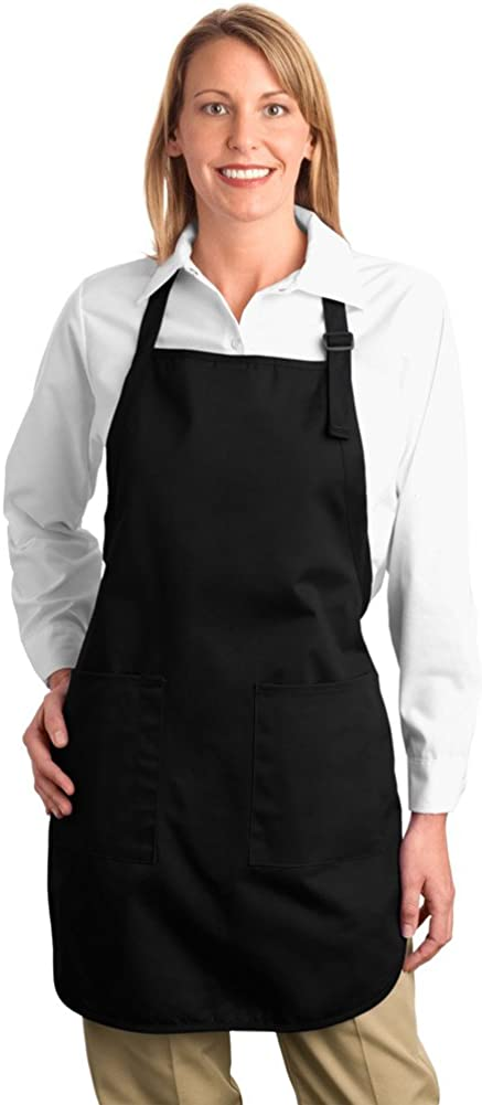 Port Authority Full Length Apron with Pockets