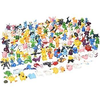 Generic Pokemon Action Figures Monster 144 Pieces