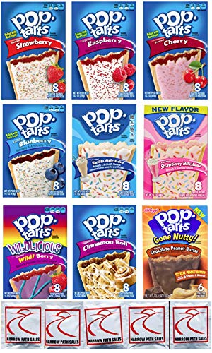 9 Pack! The Fruit Flavored Ultimate Pop Tart Variety Pack 9 Flavors - Bundle of 9 Boxes, 1 Box of Each Flavor by Narrow Path Sales (Image #6)