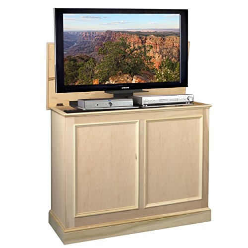 Carousel Unfinished TV Lift Cabinet