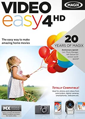 MAGIX Video easy 4 HD [Download]