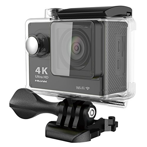 Hawk Helmets Vision H25 4K Wifi Action Camera w/ Remote Control - One Size
