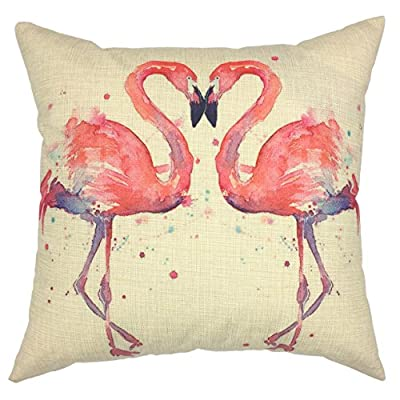 "YOUR SMILE Quote Cotton Linen Square Decorative Throw Pillow Case Cushion Cover 18 ""X 18 """
