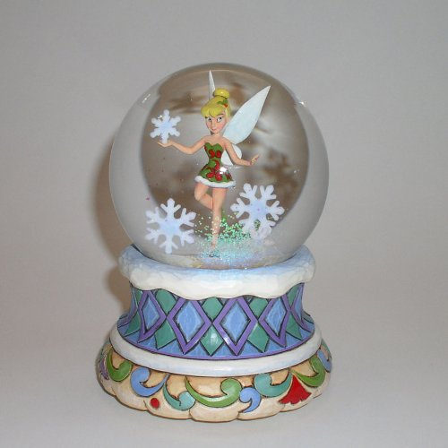 ENESCO Jim Shore Disney Tinkerbell With Snowflake Figurine