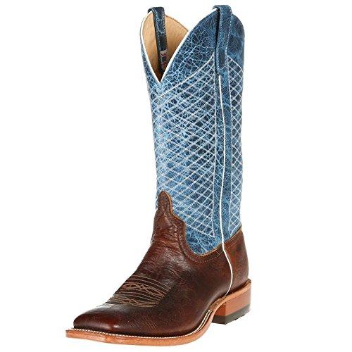 NRS Anderson Bean Mens Mike Tyson Bison Cowboy Boots 11 D ()